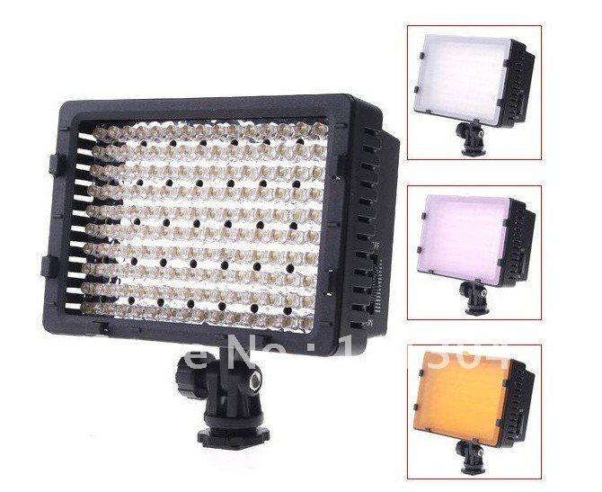 CN-160 160 LED Video Camera Light DV Camcorder Photo Lighting 5400K For Canon Nikon,Free Shipping+Drop Shipping штатив canon dv