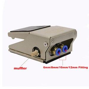 Image 4 - 고품질 fv320 공기 공압 풋 페달 밸브 스위치 FV 320 FV 420 피팅 수동 밸브 발 압력 제어 fv420