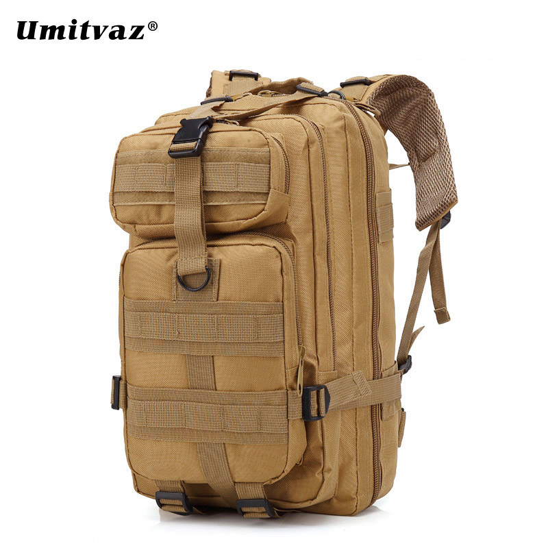 Outdoor Military Rucksacks 1000D Nylon 30L Waterproof Tactical Backpack Sports Camping Hiking Trekking Fishing Hunting Bags