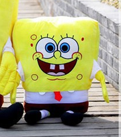 Lovely Plush Spongebob Toy The Cartoon Spongebob Cute Small Stuffed Toy About 50cm