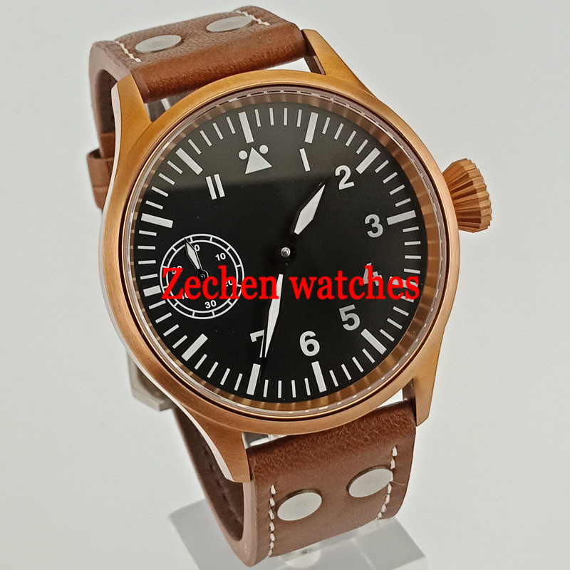 bcfa1f706 Corgeut Sterile 43mm Black Dial Luminous 6497 Hand-winding Men's Casual  Wristwatches. 6664.43 руб.
