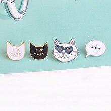 Miss zoe broche de denim para gatos, bottons para cachorros e gatos de hippo, 2 a 8, pçs/set presente de joias para crianças
