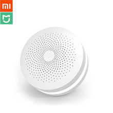 Xiaomi Original Smart Home Kit Mijia Gateway Hub Human Body Sensor Wireless Switch Temperature Humidity Water Leakage alarm set xiaomi smart home automation mijia 4 in 1 kit led gateway 2 zigbee sensor wifi switch interruptor domotique domotica