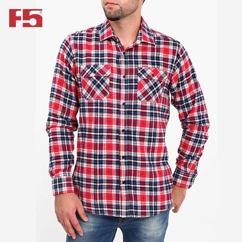 Men shirt F5 284004 men plaid detail shirt