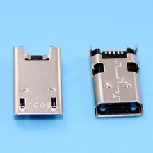 1-5 pcs Micro USB Jack socket connector poort opladen data dock plug voor Asus Memo Pad 10 Z300C ME103 ME103K P023 P024 P021 K01E(China)