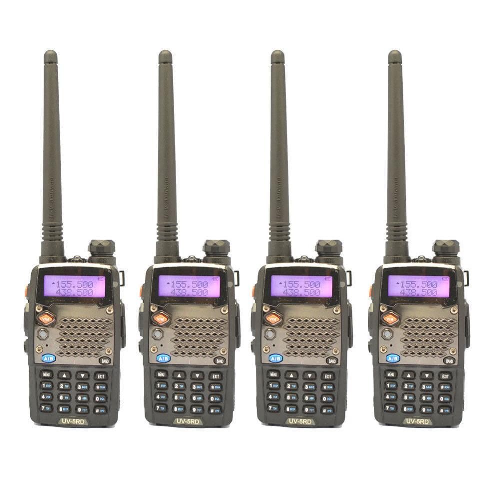 bilder für 4-sets 2014 NEUESTEN versionen UV-5RD UV-5R plus Dual Band UHF/VHF Radio + Freies DHL FEDEX