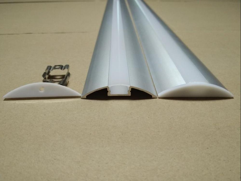 2,5m / ks 135M / Lot štíhlé vedení vodítko profil pro montáž - LED Osvětlení