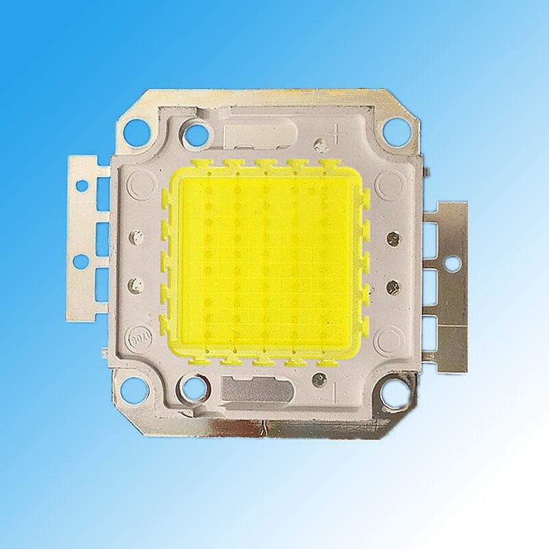 50W Warm White3000k(cold white6000k)4000K 40mm High Power LED Flood light Lamp Bead SMD Chip 30V-34V 1500mA 5000lm