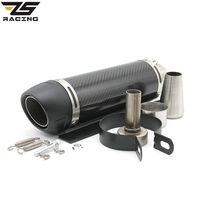 Zs racing 51mm universal motorcycle exhaust modified scooter akrapovic exhaust muffle fit for most motorcycle atv.jpg 200x200