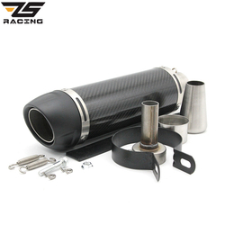 Zs racing 51mm universal motorcycle exhaust modified scooter akrapovic exhaust muffle fit for most motorcycle atv.jpg 250x250
