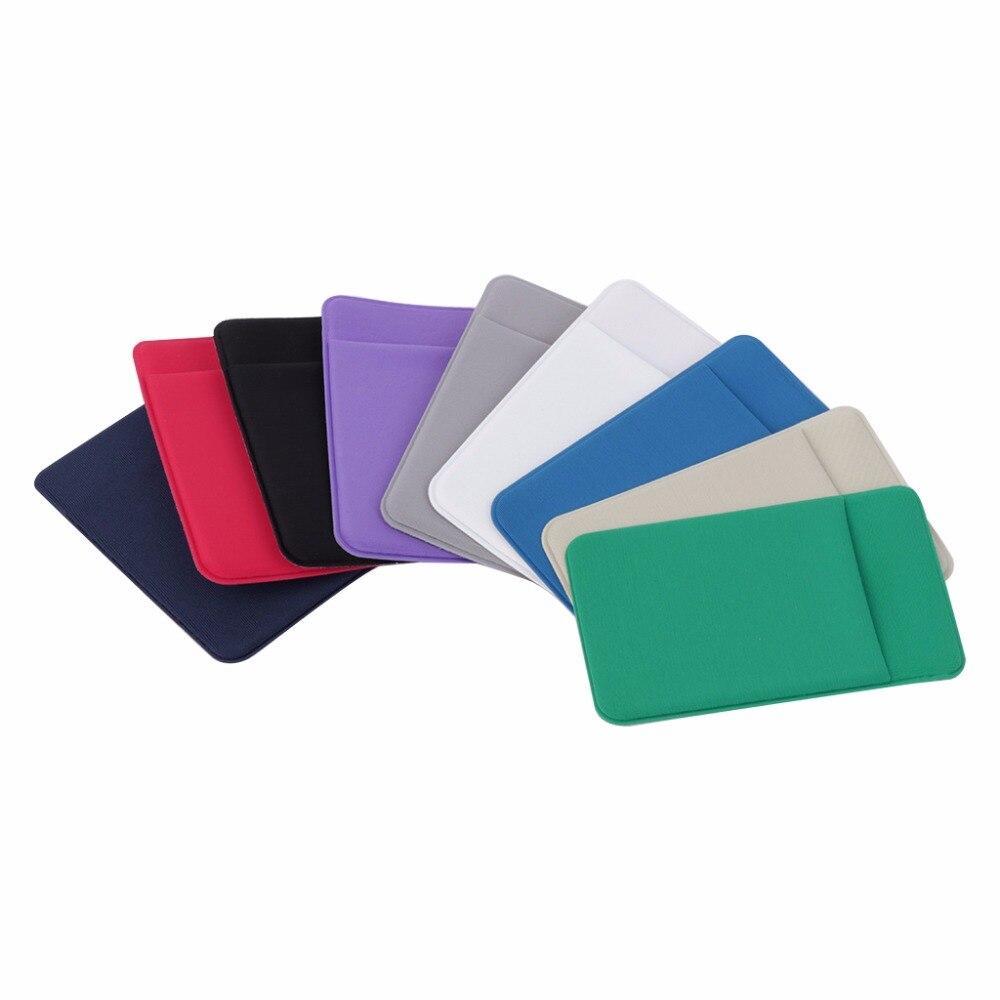 Thinkthendo горячие упругие сотовый телефон/мобильный телефон, кошелек, чехол держателя карты карман клей Стикеры 9 Цвет Мода 2017