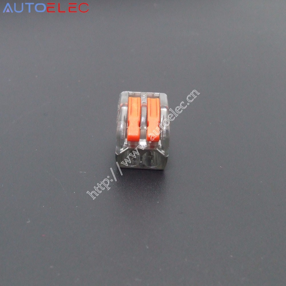 20pcs Transparent Vse 412 C Wire Connector 222 Lever Nuts 2 Pole Wiring Compact In Connectors From Home Improvement