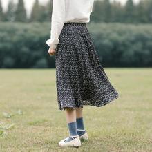 Складки на оборке юбки