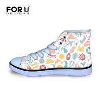 FORUDESIGNS 2017 New Beach Style Kids Shoe Sport Shoes Toddler Boys Breathable Plimsolls Sneakers School Antislip Children Run