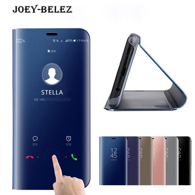bd082717eb Leather Cover Flip Case For Xiaomi Redmi Note 5 Pro 4 4X 5A Pro Redmi 5  Plus Mi Note 3 MI 5X A1 6X Mix 2 Clear Smart View Cases