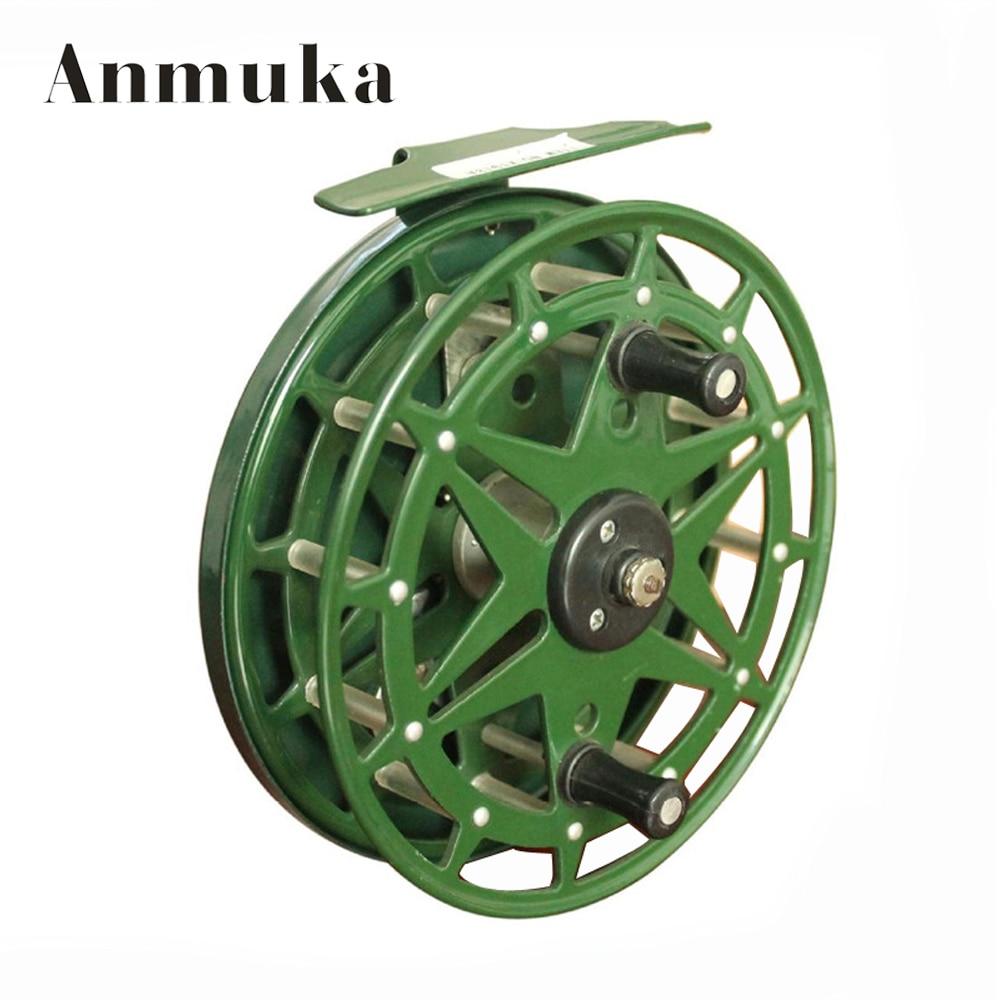 Anmuka XT918A Alloy 12.5cm diameter Carp Fishing Reel Fishing Vessel Wheel raft fishing tackle