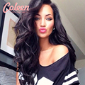 Full Lace Human Hair Wigs For Black Women 7A Peruvian Virgin Hair Wig Body Wave Wet and Wavy Full Lace Wigs Coleen Peruvian Wig