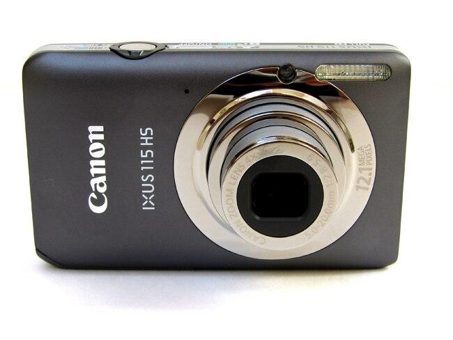 Usado, câmera digital de canon 115 hs (12.1mp, 4x zoom óptico) lcd de 3.0 polegadas