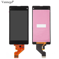 for SONY Xperia Z1 Compact Display Touch Screen with Frame For SONY Xperia Z1 mini Compact LCD Display D5503 M51W