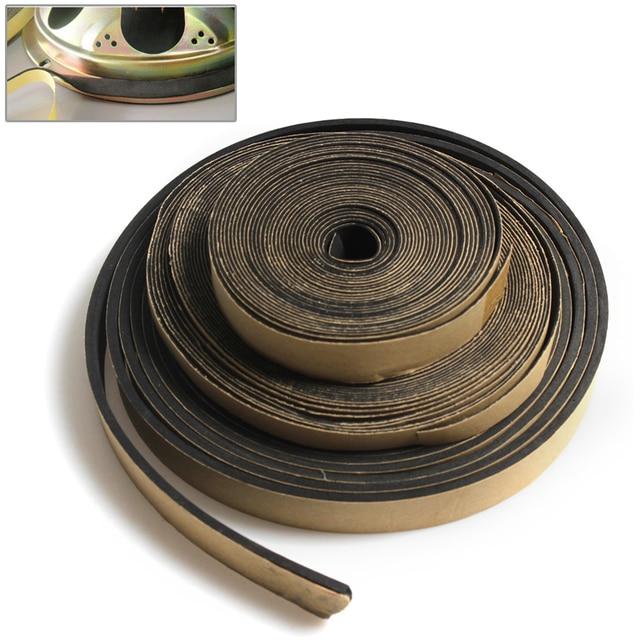 5 metr 18*3 MM/10*1 MM/18*1 MM głośnik EVA naprawa taśma uszczelniająca głośnik czarny jednostronny odporny na wstrząsy uszczelka absorbera