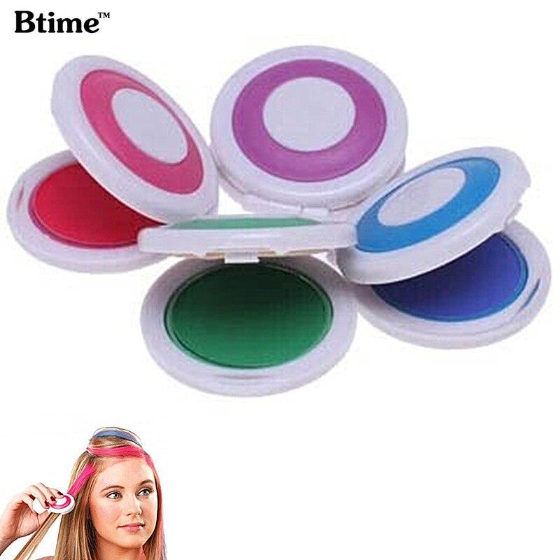 Пастель для волос Btime
