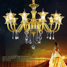 LED crystal chandelier lighting hotel lobby fixtures living room hanging lights luxury luminaires bedroom suspended lamp все цены