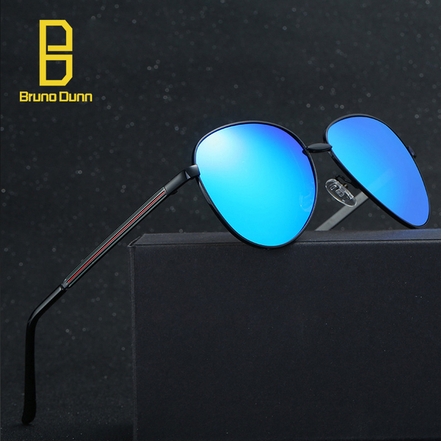9e05a4311d 2017 New HD polarized Vintage Retro Aviation Black Sunglasses Men Women  Luxury Sun Glases Female Brand
