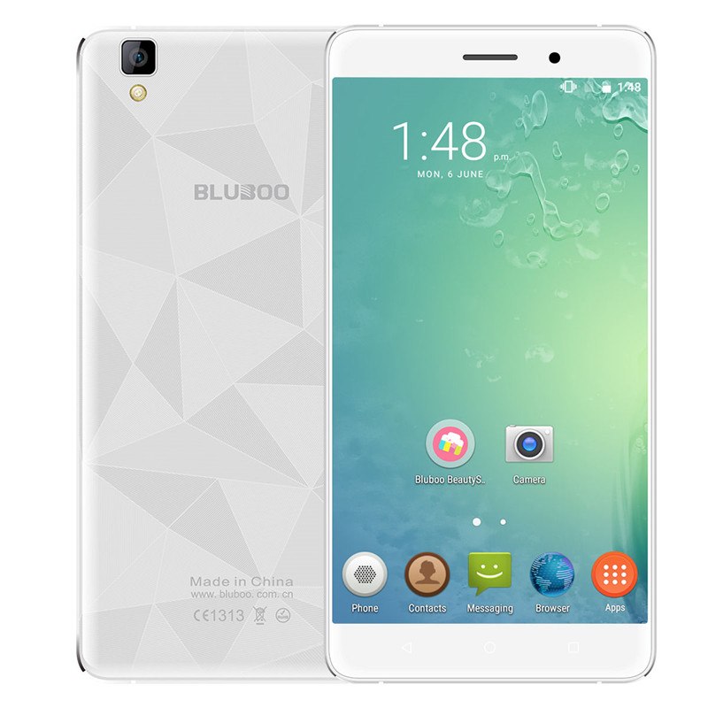 Bluboo Maya 3G Cellphone 5 5 HD 3000mAh WCDMA MTK6580 Quad Core Android 6 0 2G