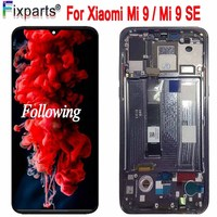 New Amoled LCD Xiaomi Mi 9 LCD Display Touch Screen Digitizer Assembly Replacement Parts Display Mi9 For Xiaomi Mi 9 SE LCD