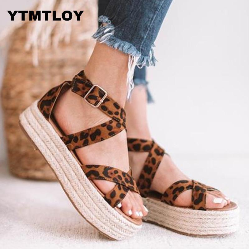 Sandals Women Pumps Flop Wedges-Shoes Platform Flip High-Heels Femme 35-43 Feminina Chaussures