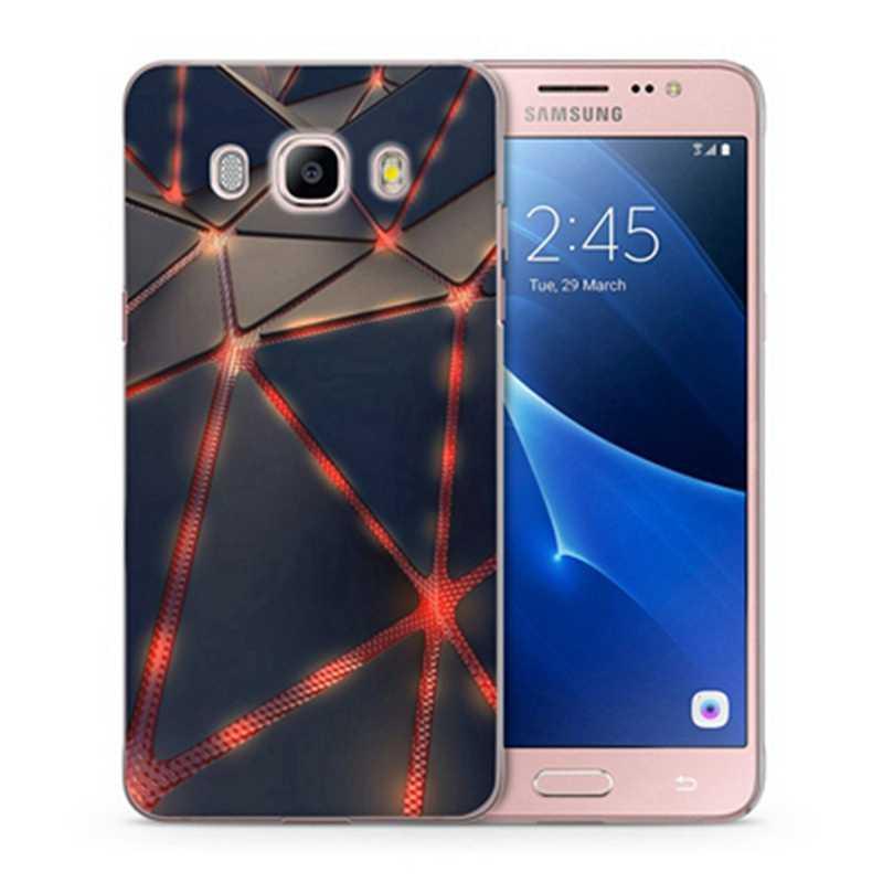 Мягкий чехол из ТПУ с узором чехол для телефона для samsung Galaxy J3 J5 J7 Prime J1 мини 2016 для samsung A3 A5 A7 J5 J7 J3 2017 чехол на заднюю панель