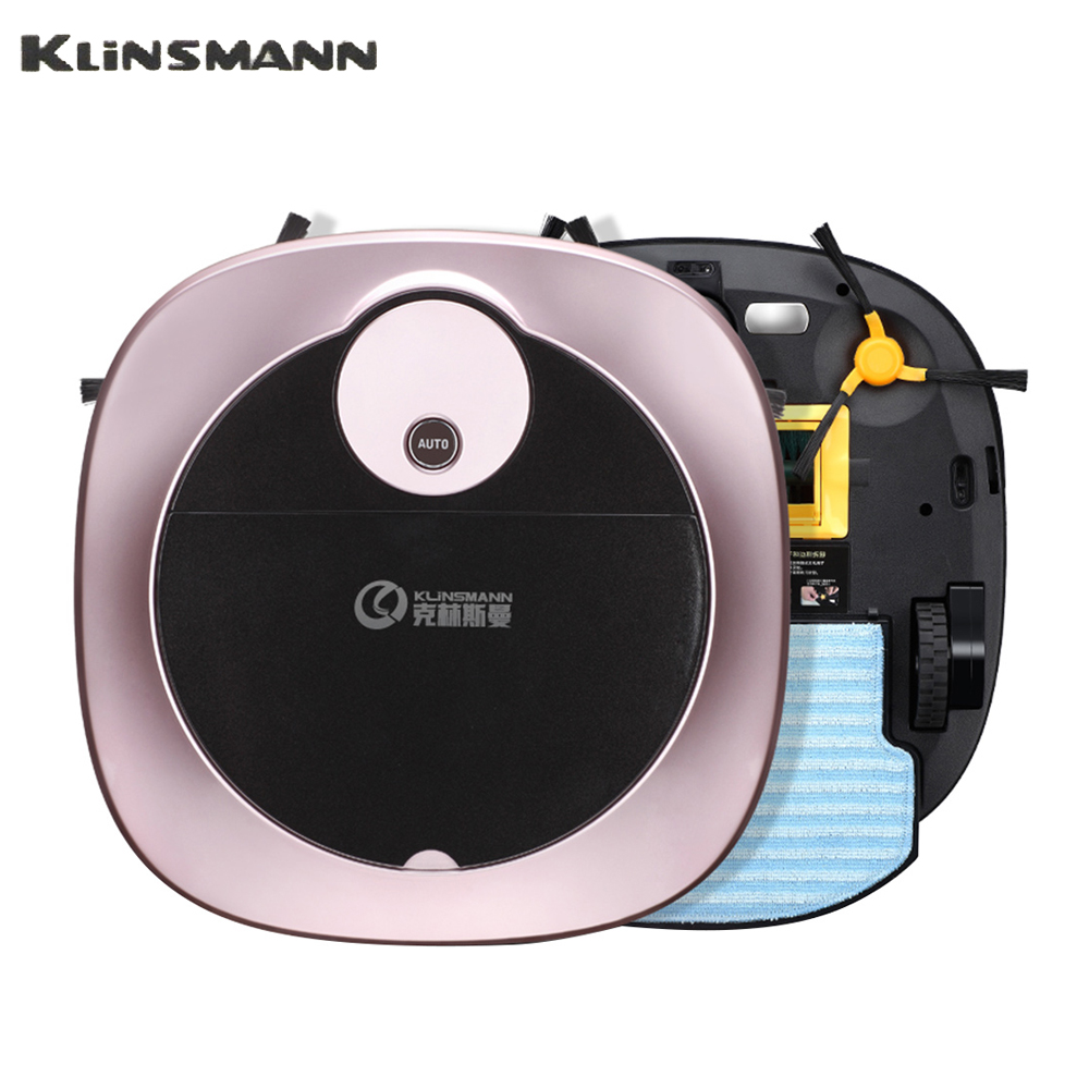 KLiNSMANN Smart Robot Vacuum Cleaner For Home 1200Pa Suction Intelligent Cleaning Dust Collector Aspirator Sweeper APP Control недорого