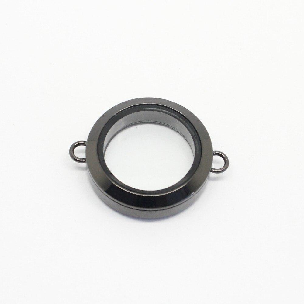 Carvort 25 мм/30 мм плавающий твист медальон браслеты без кристаллов 316L браслеты из нержавеющей стали( цепи
