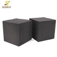 SENRHY 2pcs Studio Acoustic Soundproofing Foam 20X20X20cm Studio Acoustic Corner Cube Bass Trap Foam Drum KTV
