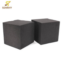 SENRHY 2pcs Studio Acoustic Soundproofing Foam 20X20X20cm Studio Acoustic Corner Cube Bass Trap Foam Drum KTV