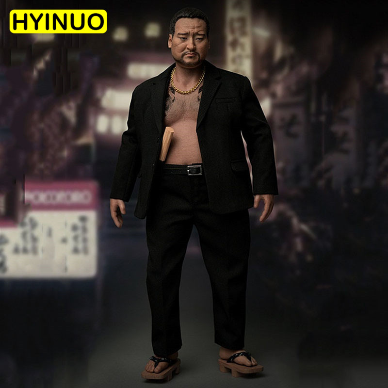1/6 Scale AT-026 Japanese Bully Man Underworld Male Big Brother Fat Man Sculpt Model 12 Full Set Action Figure Dolls Toys1/6 Scale AT-026 Japanese Bully Man Underworld Male Big Brother Fat Man Sculpt Model 12 Full Set Action Figure Dolls Toys