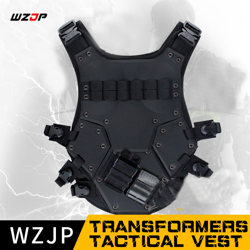 Wzjp 2018 Tactical Vest Tmc Transformers Cqb Lbv Molle Military Airsoft Paintball Combat Assault Cs Field Protection Hunt High Quality And Low Overhead Paintball Accessories Sports & Entertainment