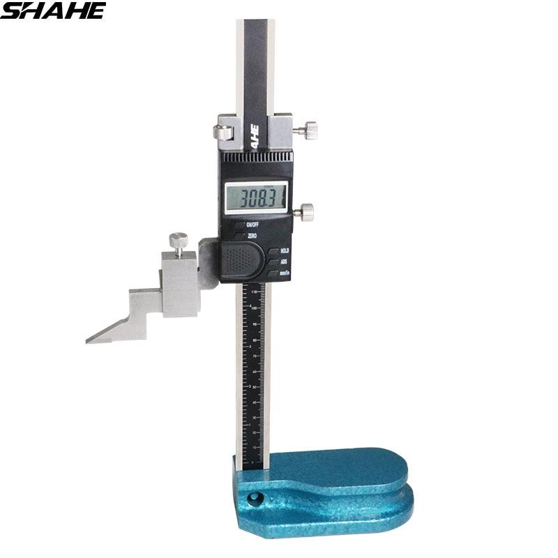 """Shahe 150mm digital medidor de altura 0-150mm/6 """"digital caliper eletrônico calibre instrumentos de medição de altura"""