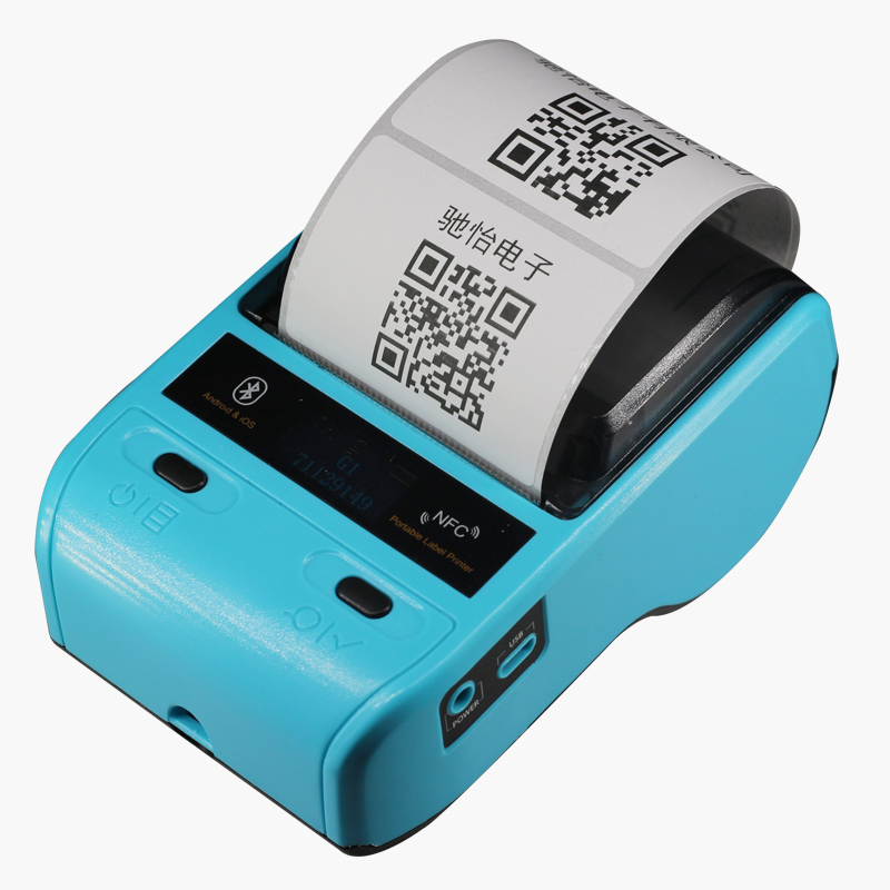 Portable Mini 58mm Bluetooth 2.0 Android POS Receipt Thermal Printer Bill Label Printer Machine For Supermarket Restaurant zj 8002 80mm bluetooth2 0 android pos receipt thermal printer bill machine for supermarket restaurant black color eu plug