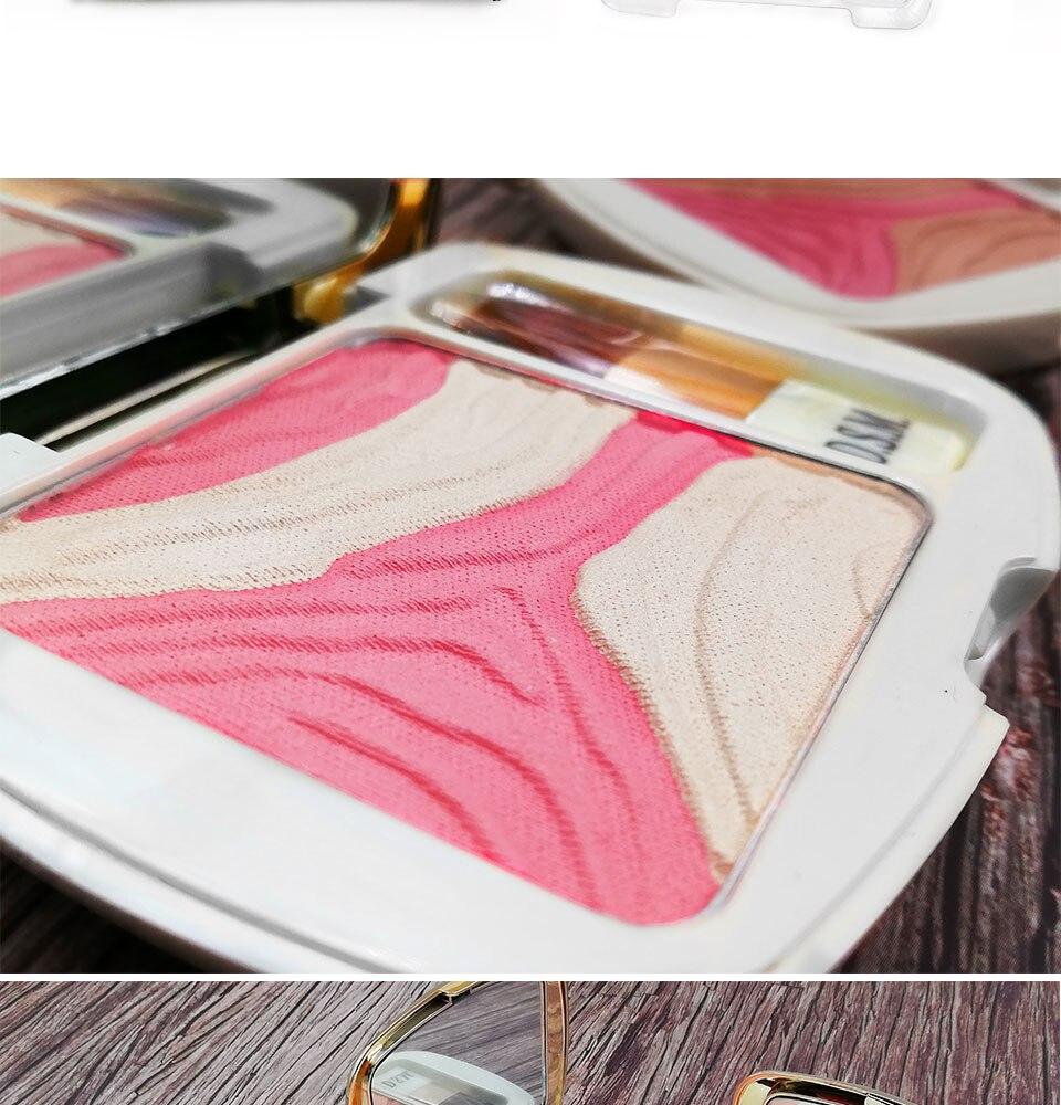 D.s.m multi color blush maquiagem de longa