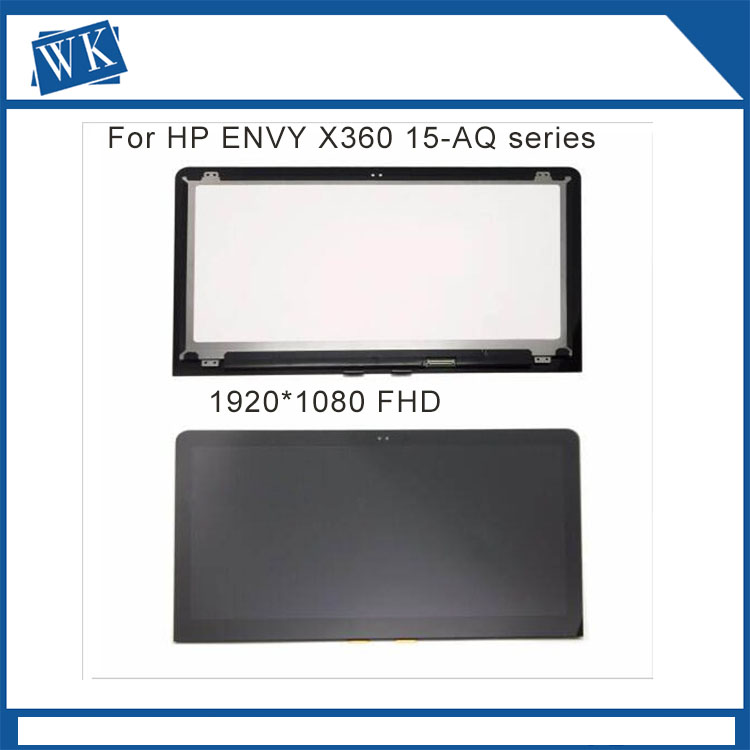 15.6 For HP ENVY x360 15-aq015nd 15-aq102na 15-aq100no 15-aq150nz 15-aq173cl Full HD LCD Display Touch Screen for hp envy 15 bq194nz 15 bq199nz 15 bq051sa 15 bq150sa 15 bq100nl 15 bq101nl 15 bq103nl lcd display screen touch glass assembly