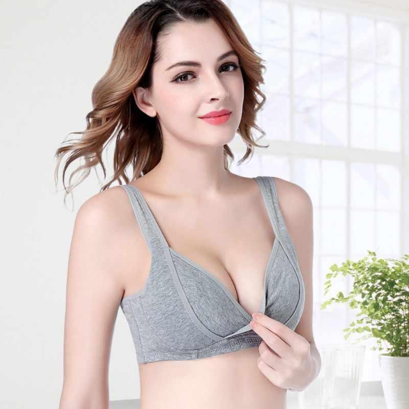 7c4330dd80f2f Cotton Maternity Nursing Bra Large Size Push Up Bra Sexy Underwear For  Women Bra Sutian Lingerie