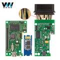Alta Qualidade VAS 5054A Chips OKI ODIS Completo V3.0.3 Importação 1181 IC Chip De OBD OBD2 Bluetooth VAS5054A Ferramenta De Diagnóstico Do Carro-detector