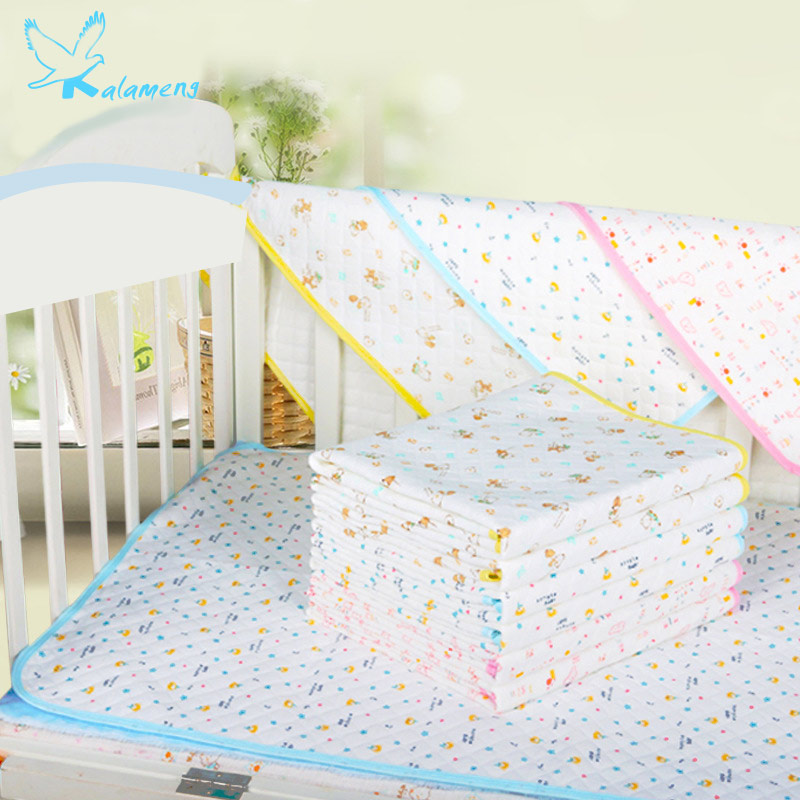 kalameng-ecological-cotton-waterproof-baby-mattress-cotton-urine-pad-baby-absorbent-absorbent-cotton-pad-small-size-34-43cm