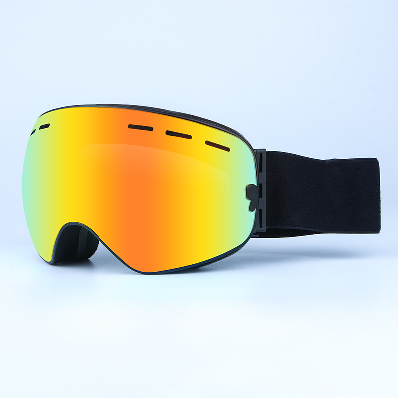 e696fba2e5bb OBAOLAI snow goggles best ski goggles womens double layer anti fog big  vision ball Snowboard Goggles blenders ski goggles 7color-in Skiing Eyewear  from ...