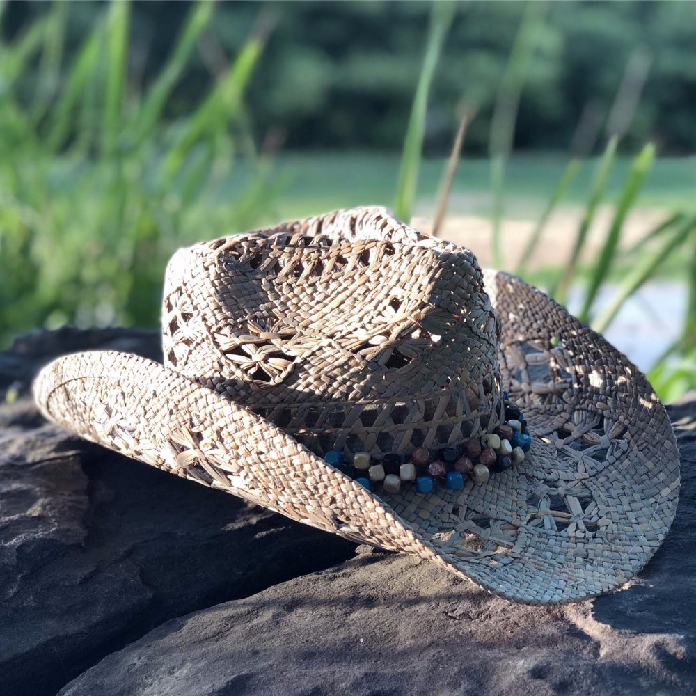 Hand Made Beach Felt Cowboy Hat