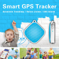 MiNi Car Personal Pet GPS Locator Tracker Keychain Location Tracking Device For Kids Elders Pets Real Time Alarm APP Track