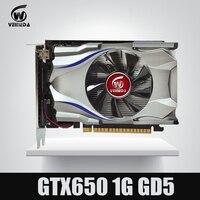 GTX650 GPU Veineda Video Card GTX650 1G 128Bit Graphics Vga Game Card 1059 5000MHz Stronger Than