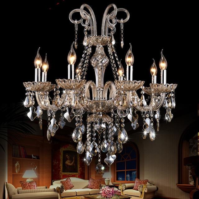 Modern Crystal Chandelier For Living Room Bedroom Kitchen Lights Lustre De  Cristal Luxury Chandelier K9 Crystal