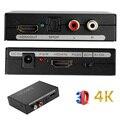 HDMI to HDMI & Optical SPDIF + RCA L/R 2160P Audio Extractor Converter Splitter